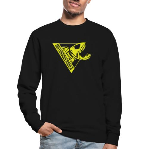 Logo Motoboquerones amarillo - Sudadera unisex