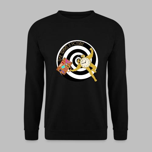 Time Travel Is Possible - Men's Sweatshirt