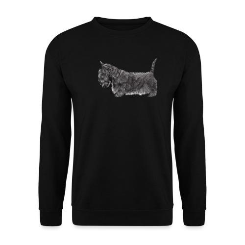 skotsk terrier ub - Herre sweater