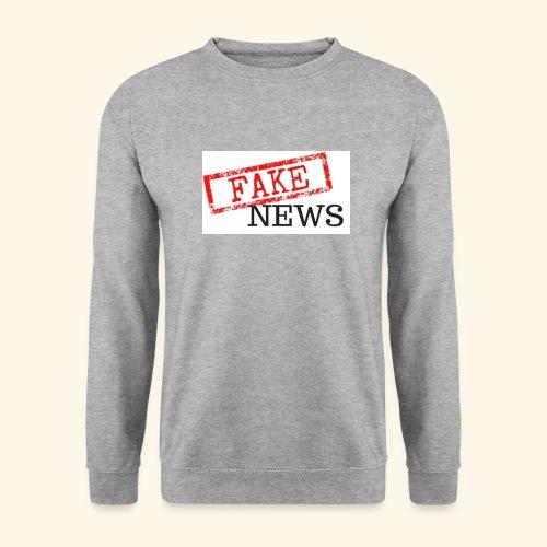 fake news - Unisex Sweatshirt