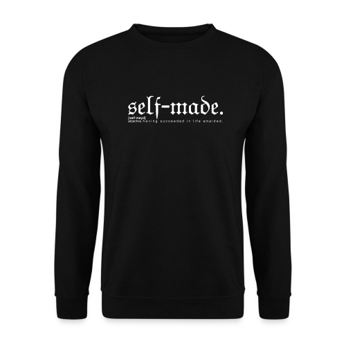 SELF-MADE BW - Men's Sweatshirt