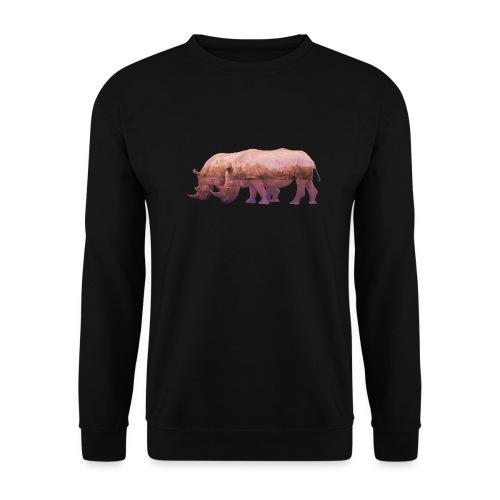 Nashorn Alpen - Männer Pullover