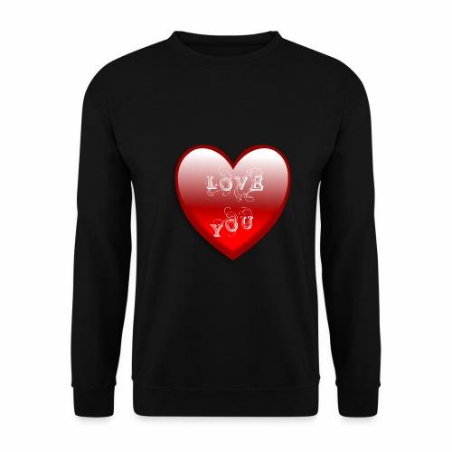 Love You - Männer Pullover