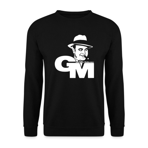 GMlogowhite Converted png - Genser unisex