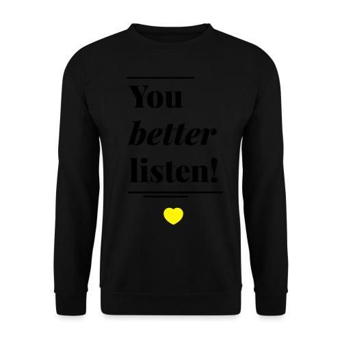better - Männer Pullover