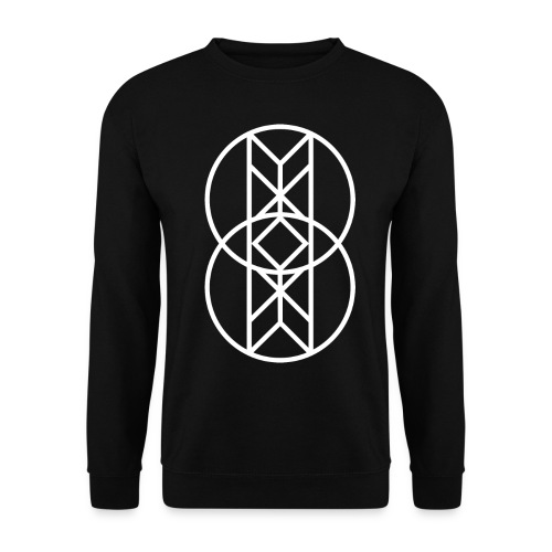 Circule White png - Unisex Pullover