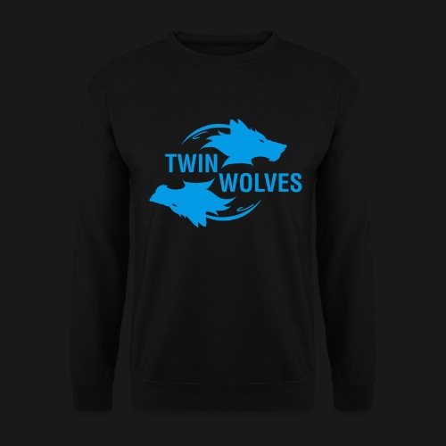 Twin Wolves Studio - Felpa da uomo