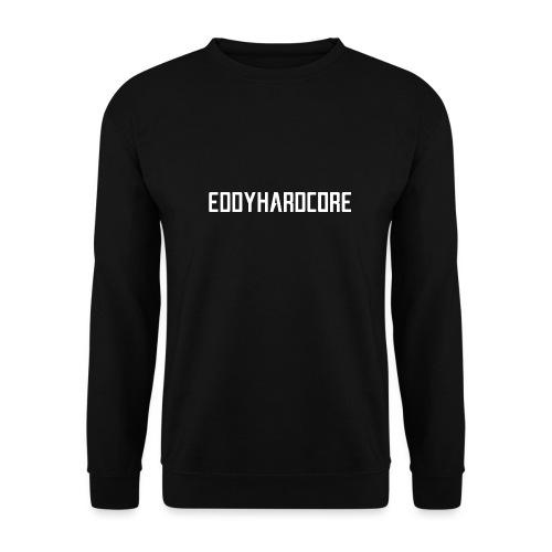 EddyHardcore logo nek transparant png - Unisex sweater