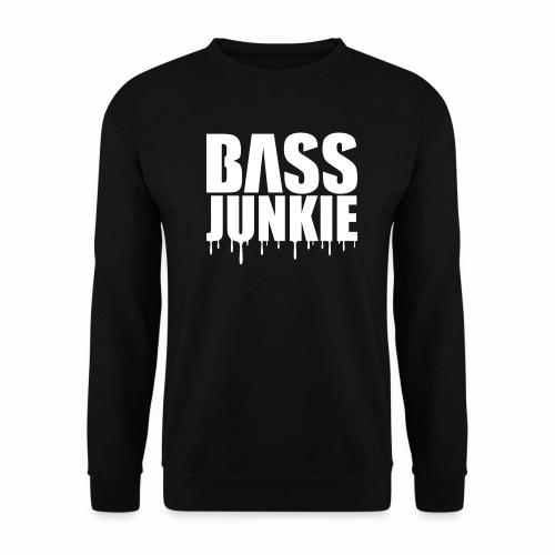 Bassjunkie Bass Music Musik Electro Festivals DJ - Unisex Pullover