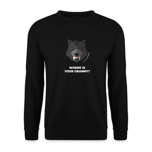 Halloween Flirt Monster Wolf - Männer Pullover