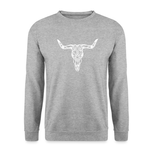 LaBestiaWhiteLogo png - Unisex sweater