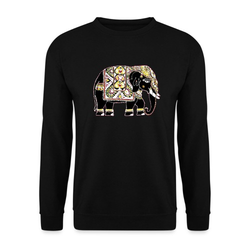 Indian elephant for luck - Unisex Sweatshirt