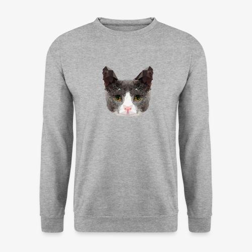 Triangle Cat - Men's Sweatshirt