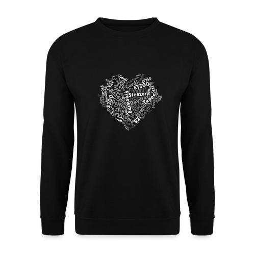 snm-daelim-models-heart-g - Unisex Pullover