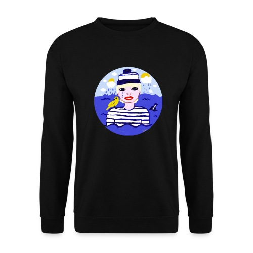 the sailor in love with the sea - Unisex Pullover