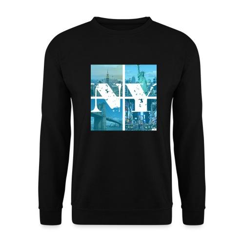 NEW YORK BLUE - Männer Pullover