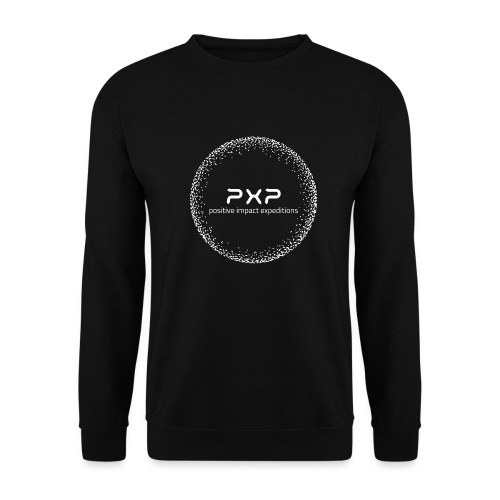white logo transparent 2x - Unisex Sweatshirt