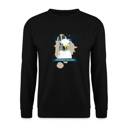 WANTED - Fischbrötchendieb - Männer Pullover