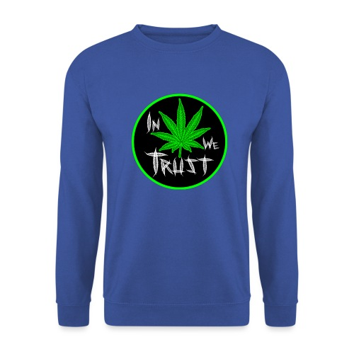 In weed we trust - Sudadera hombre