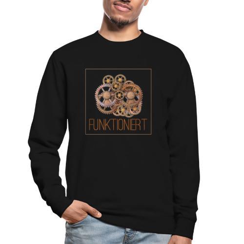 Zahnräder shirt - Unisex Pullover