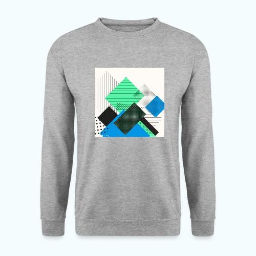 Abstract rectangles pastel - Men's Sweatshirt