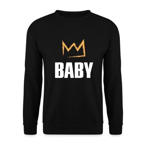 Baby mit Krone - Männer Pullover