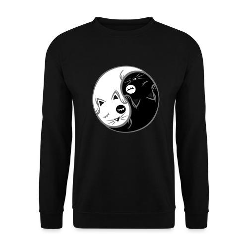 Yin Yang katze flex - Männer Pullover