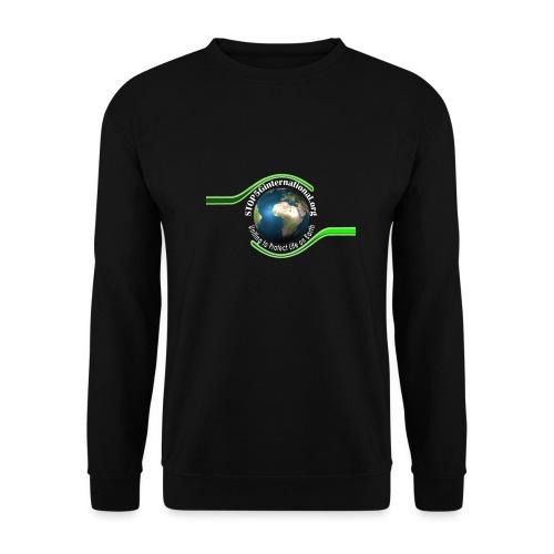 LOGO white font - Unisex Sweatshirt