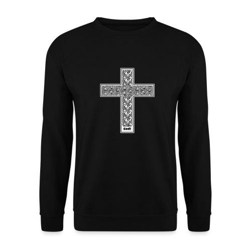 Jesus cross. I'm no longer a slave to fear. - Unisex Sweatshirt