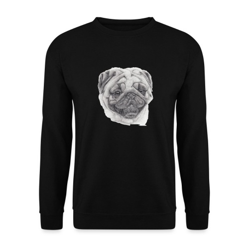 Pug mops 2 - Herre sweater
