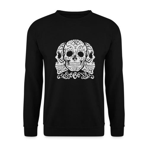 Skull Dia de los muertos - Sweat-shirt Homme