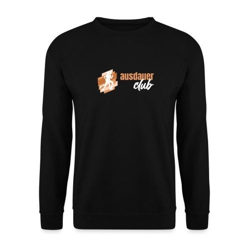 ausdauerclub weiss - Unisex Pullover