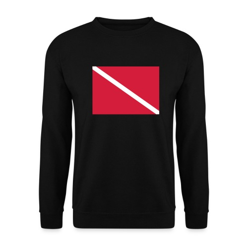 Diver Flag - Men's Sweatshirt