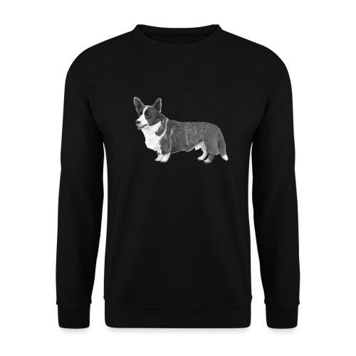 welsh Corgi Cardigan - Herre sweater