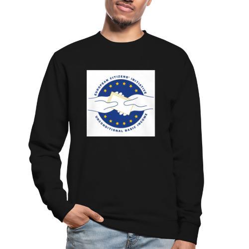 Logo eci-UBI 2020 OP WIT VIERKANT - Unisex sweater
