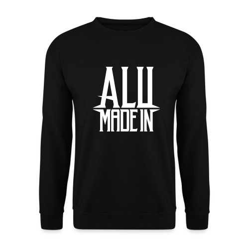 logo_alumadein_vecto_blan - Sweat-shirt Unisex