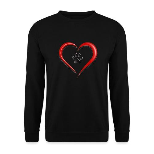 Shirt Herz auf vier Beinen - Männer Pullover