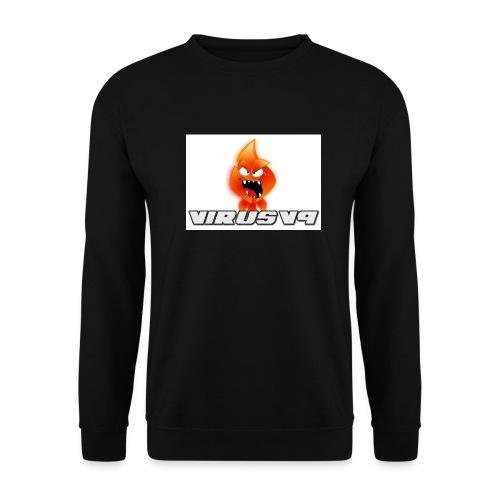 Virusv9 Weiss - Männer Pullover