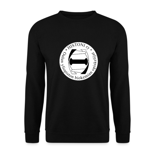 Histoni logo tausta musta - Unisex svetaripaita