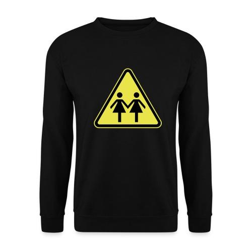 ACHTUNG LESBEN POWER! Motiv für lesbische Frauen - Männer Pullover