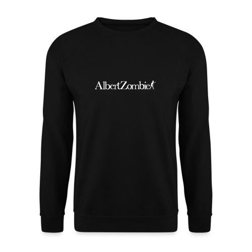 Albert Zombie White - Sweat-shirt Unisex