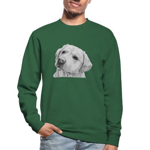 labrador retriever yellow - head - Unisex sweater