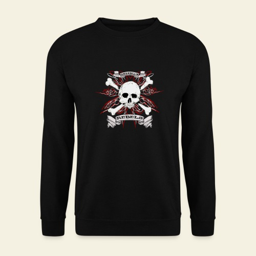 skull - Herre sweater