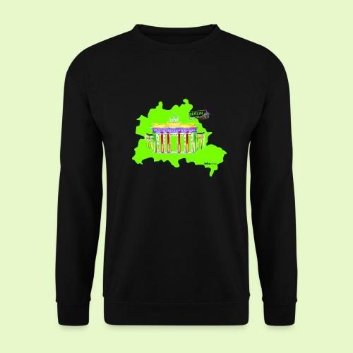 Berlin ist grün und bunt / BerlinLightShow - Unisex Pullover