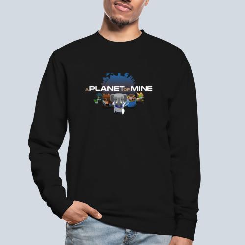 logo planetofmine dark HD - Sweat-shirt Unisexe