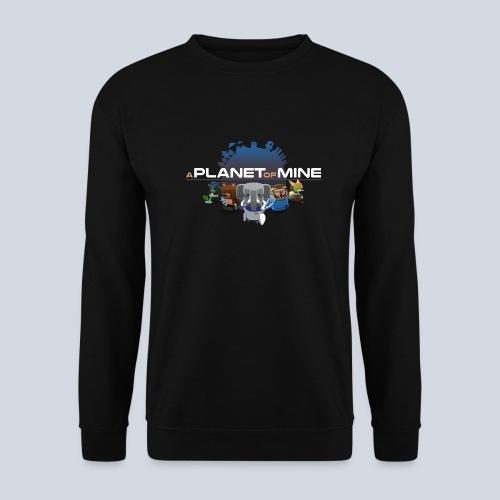 logo planetofmine dark HD - Sweat-shirt Homme