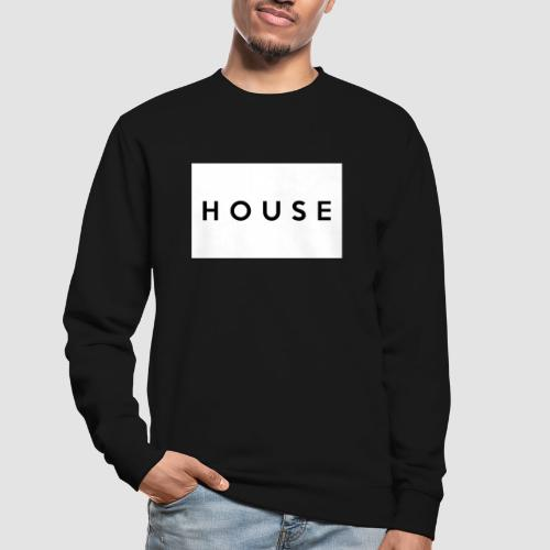 House white square - Sudadera unisex