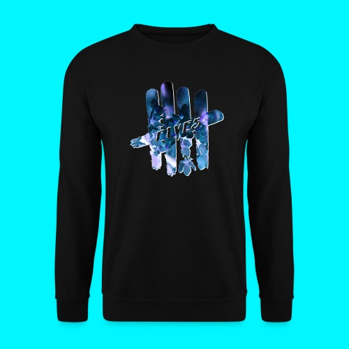 FIVES space flowers - Sweat-shirt Unisex