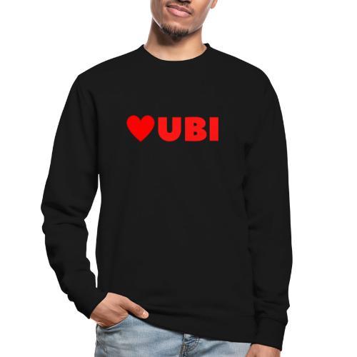love ubi red trans - Unisex sweater