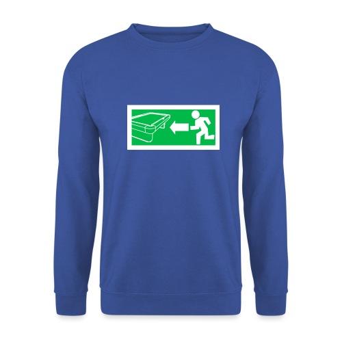 "Billard Shirt ""Notausgang Billard"" - Pool Billard - Unisex Pullover"